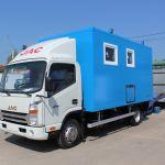 JAC представляет новые грузовики с российскими надстройками