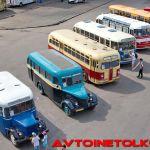 Новые фотографии ретро-автобусов из музея Мосгортранса