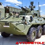 Противодиверсионные машины Тайфун-М начали поступать в ракетные войска