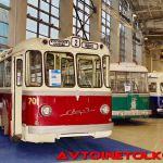 Ретро-троллейбусы из музея Мосгортранса