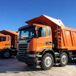«Южно-Уральская Горно-перерабатывающая Компания» приобрела самосвалы Scania G440 CB8x4 EHZ
