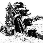Учебник «Строительные и путевые машины» 1952 года