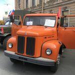Scania на III Петербургском параде ретро-транспорта