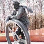 Памятник героям автомобилистам в Тропарёво