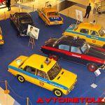 Выставка ретро-автомобилей милиции в Метрополисе