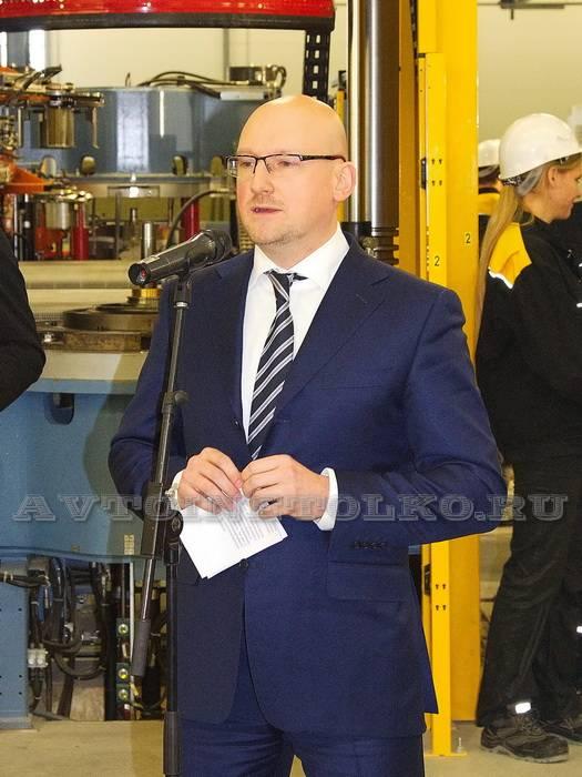 Министр экономического развития Калужской области В.И.Попов