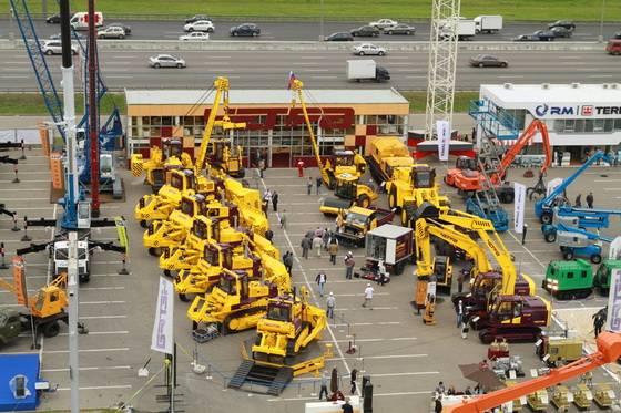 стенд ЧЕТРА на выставке Строительная техника и технологии-2012