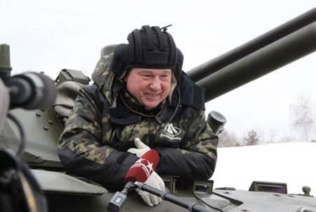 Владимир Шаманов: БМД-4М - прекрасная машина!