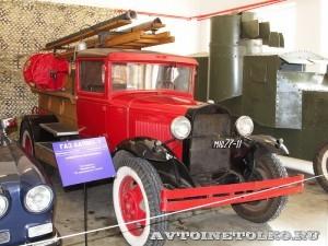 Пожарная линейка ПМГ 1 в музее Мосфильма