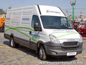 IVECO Daily CNG фургон СТ Нижегородец на выставке СитиТрансЭкспо 2013