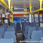 Автобус ПАЗ 320412 Вектор с газовым двигателем на выставке GasSuf 2013 салон