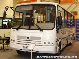 Автобус ПАЗ 320412 Вектор с газовым двигателем на выставке GasSuf 2013