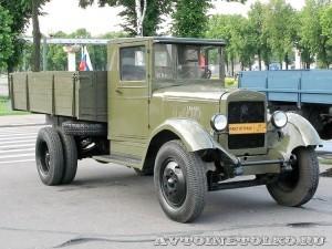 Грузовой автомобиль ЗиС-5 из коллекции Мосгортранса