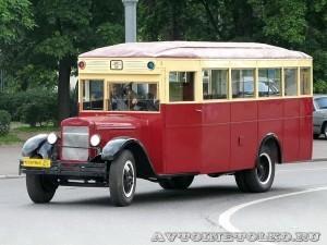 Автобус ЗиС-8 из коллекции Мосгортранса