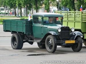 Грузовой автомобиль ГАЗ АА из коллекции Мосгортранса