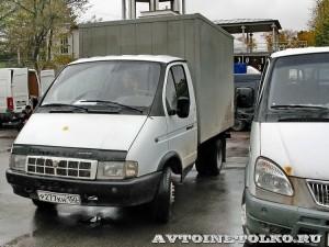 Грузовой автомобиль ГАЗ 3302 ГАЗель с кузовом фургоном