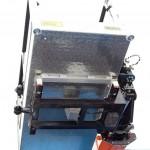 Новый автогидроподъемник Socage T 322 производства Чайка Сервис на шасси КамАЗ складная люлька снизу