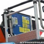 Новый автогидроподъемник Socage T 322 производства Чайка Сервис на шасси КамАЗ складная люлька пульт