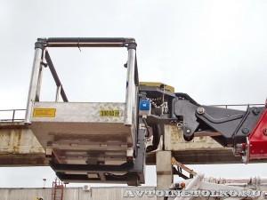 Новый автогидроподъемник Socage T 322 производства Чайка Сервис на шасси КамАЗ складная люлька