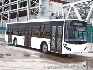 Низкопольный городской автобус Волжанин СитиРитм на выставке COMTRANS 13
