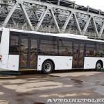 Низкопольный городской автобус Волжанин СитиРитм на выставке COMTRANS 13 сзади