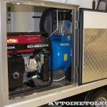 Hino 300 мастерская Центранстехмаш на выставке COMTRANS 13 генератор