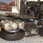 Седельный тягач Hino 700 на выставке COMTRANS 13 ресиверы и запаска
