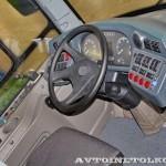 Низкопольный городской автобус Волжанин СитиРитм на выставке COMTRANS 13 место водителя