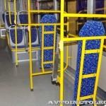Низкопольный городской автобус Волжанин СитиРитм на выставке COMTRANS 13 накопительная площадка