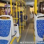 Низкопольный городской автобус Волжанин СитиРитм на выставке COMTRANS 13 салон