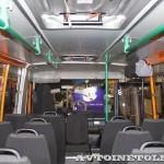 Автобус Волжанин Ритмикс с газовым двигателем на выставке COMTRANS 13 салон