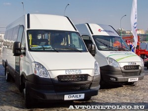IVECO Daily СТ Нижегородец на выставке СитиТрансЭкспо 2013