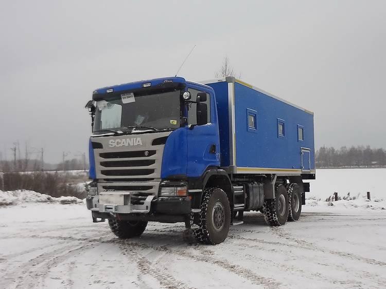 Ремонтная мастерская Рускомтранс на шасси Scania