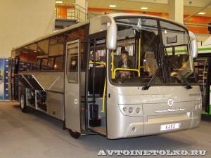 Автобус КАвЗ 4238 с газовым двигателем на выставке GasSuf 2013