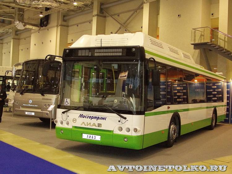 Русские Автобусы Группа ГАЗ на выставке GasSuf 2013