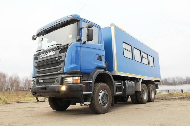 Вахтовый автобус Рускомтранс на шасси Scania