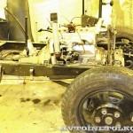 Грузовой автомобиль ГАЗ АА на реставрации в Политехническом музее шасси