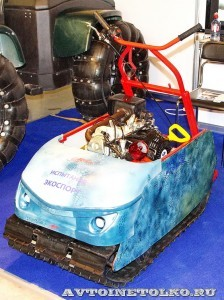 Мотобуксировщик Экоспорт Horton на выставке Вездеход 2013