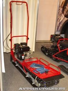 Мотобуксировщик МБГ-1 Фишкар на выставке Вездеход 2013