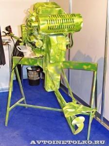 Подвесной мотор Экоспорт HBM на выставке Вездеход 2013