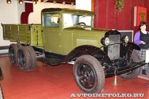 Грузовой автомобиль ГАЗ-ААА в заводском музее ГАЗ