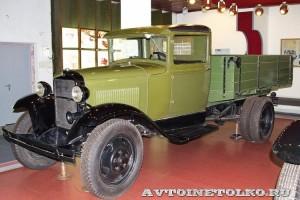 Грузовой автомобиль ГАЗ-АА в заводском музее ГАЗ