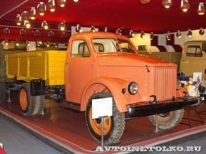 Грузовой автомобиль ГАЗ 51 в заводском музее ГАЗ