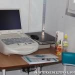 Передвижной медицинский пункт Осмотр ООО Протон КамАЗ 65115 на выставке Здравоохранение 2013 экспресс анализ