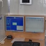 Передвижной медицинский пункт Осмотр ООО Протон КамАЗ 65115 на выставке Здравоохранение 2013 компьютер