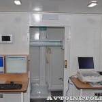 Передвижной медицинский пункт Осмотр ООО Протон КамАЗ 65115 на выставке Здравоохранение 2013 кабинет