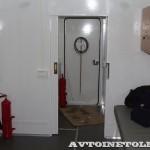 Передвижной медицинский пункт Осмотр ООО Протон КамАЗ 65115 на выставке Здравоохранение 2013 вход