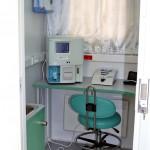 мобильный медицинский центр НПО Медкар IVECO Eurocargo на выставке Здравоохранение 2013 экспресс анализ