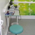 мобильный медицинский центр НПО Медкар IVECO Eurocargo на выставке Здравоохранение 2013 кабинет врача