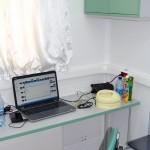 мобильный медицинский центр НПО Медкар IVECO Eurocargo на выставке Здравоохранение 2013 кабинет УЗИ